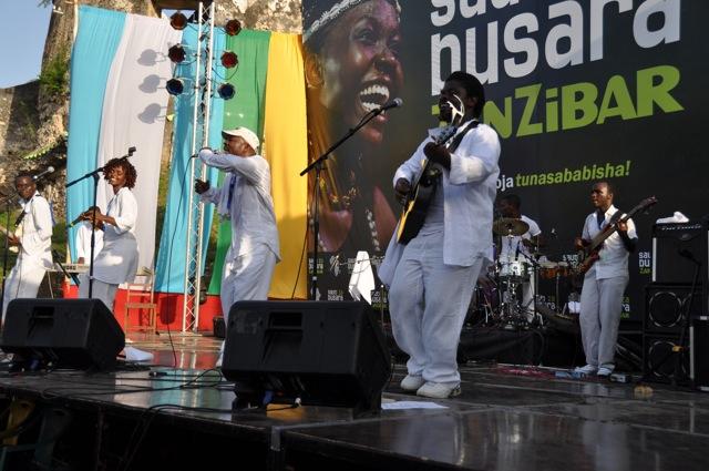 The Sowers Group performing at Sauti za Busara